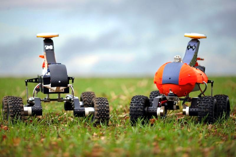 Robots and virtual fencing could be on British farms in 20 years time, report says