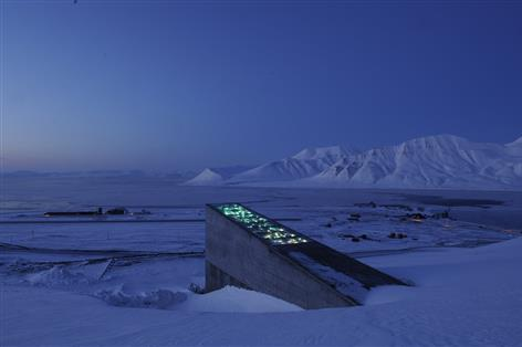 Major seed deposit enters secure vault in Arctic Circle to ensure food security in global crisis