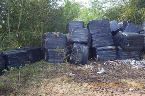 Environment Agency issues warning over baled waste crime
