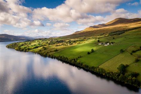 'Highly scenic' livestock farm situated by loch enters market