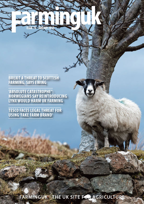 FarmingUK Magazine January 2018