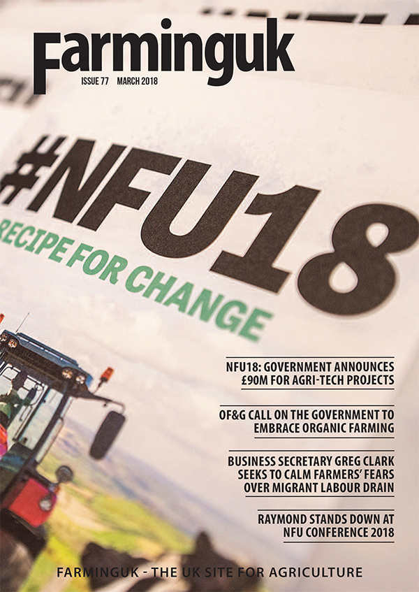 FarmingUK Magazine March 2018