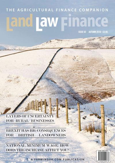 Land Law Finance Autumn 2016