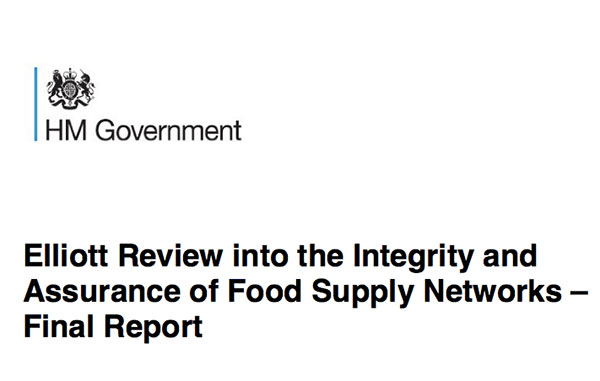 Elliott Review into Food Supply Networks