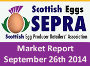 SEPRA Market Report - 26th September 2014