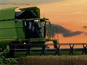 John Deere 1470 and 1570 Combine Harvest...