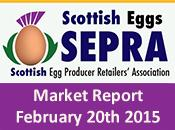 SEPRA Market Report - 20th February 2015