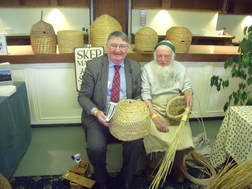 Roger Williams MP with Karl Showler