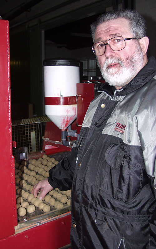 Mick Gathercole + liquid seed treater