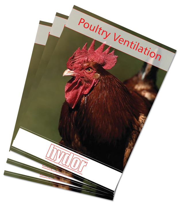 New poultry ventilation brochure from Hydor