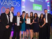 Asda wins British Turkey Retailer of the Year - and the evening also raised more than £5,000 for the children's medical charity Sparks