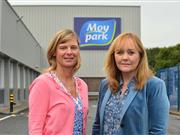 Janet McCollum, Chief Executive of Moy Park and DAERA Minister Michelle McIlveen