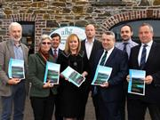 Members of an expert working group present DAERA Minister Michelle McIlveen with a report on Sustainable Agricultural Land Management Strategy for NI
