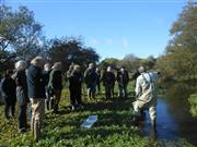 A recently formed Farmer Cluster in Norfolk met to learn more about how they can protect the river conservation measures