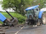 Man who drove tractor into path of train sentenced