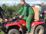 Farmer tells hunt saboteurs to 'get off my land', violence escalates