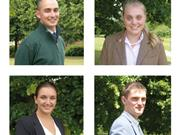 Four agricultural students receive top award to support studies