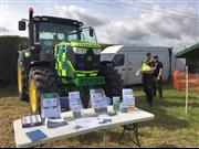 'Bobby' the police tractor to educate children about rural crime