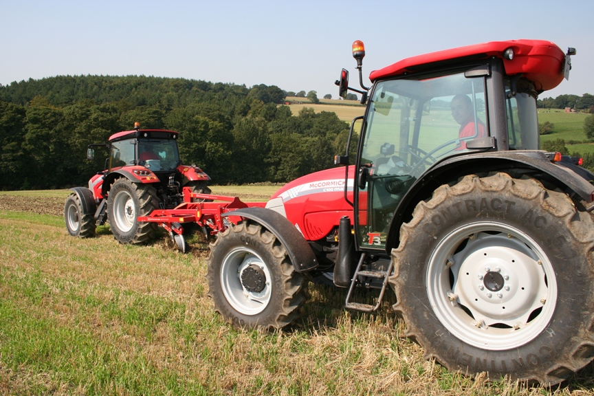 Working Demo Launches Yorks Mccormick Tractor Sale