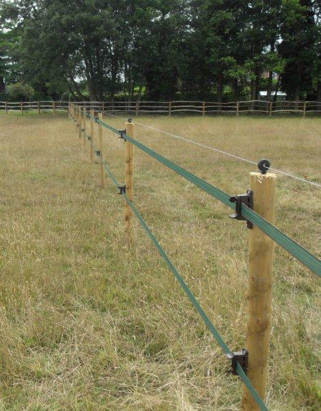 Tape wire or rope for your electric fencing farming uk
