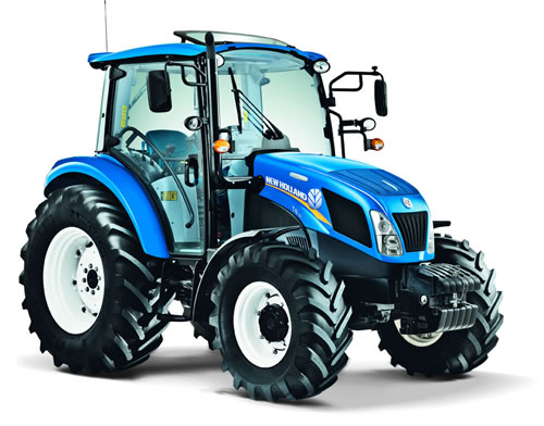 New Holland 75hp 4x4 Tractors : New holland t powerstar big tractor features farming