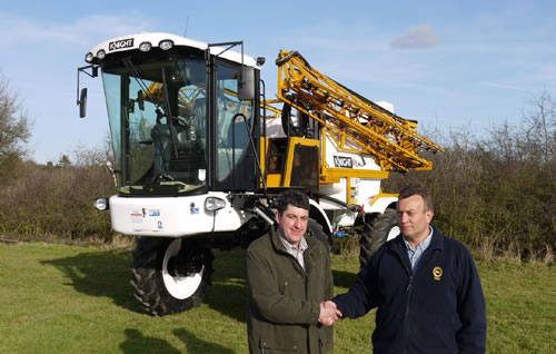 2000th Knight Sprayer is high tech landmark