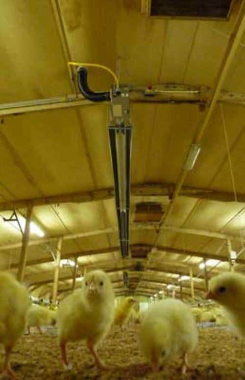 Reduced energy costs for Shropshire farm