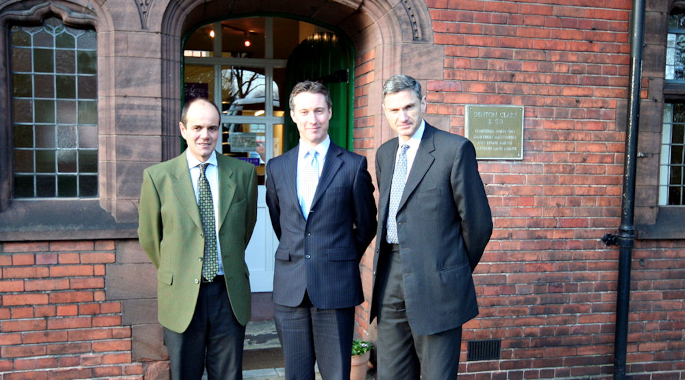 Chartered Surveyors Denton Clark and Fisher German merge their business