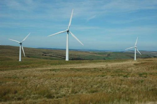 Wind turbines to be built in Lanarkshire, Scotland