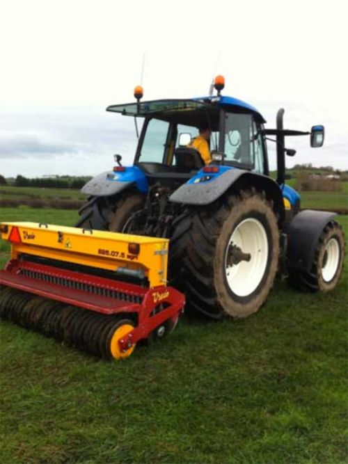 Agri-seeders sold into Ireland for grassland rejuvenation