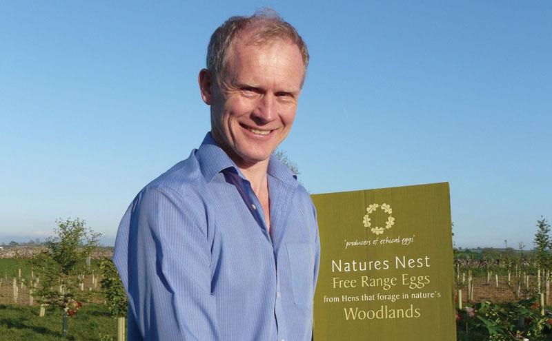 David Brass from Lakes Free Range Eggs