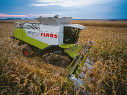 New LEXION 600TT makes tracks for Cereals