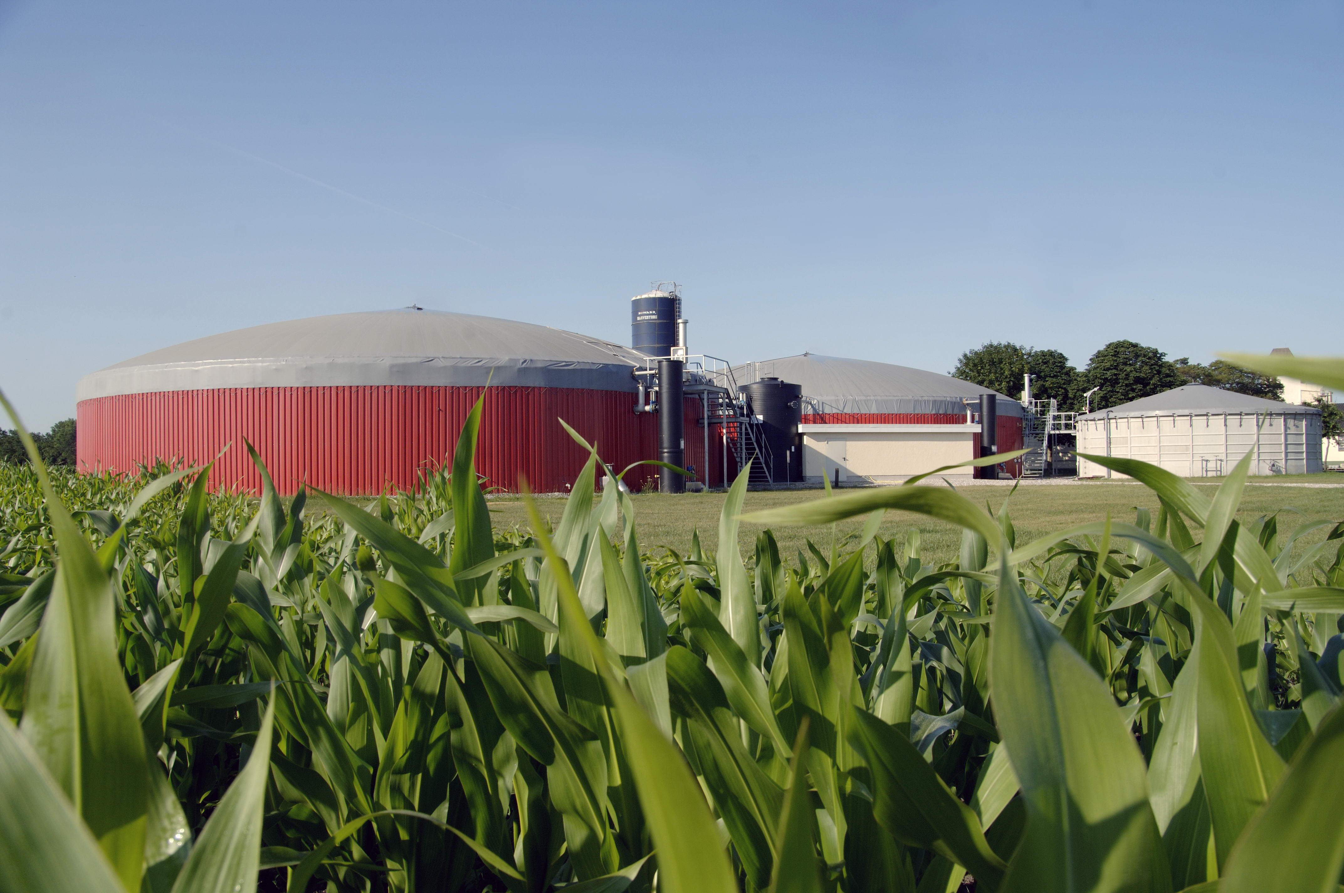 An EnviTec Biogas Anaerobic Digestion Plant