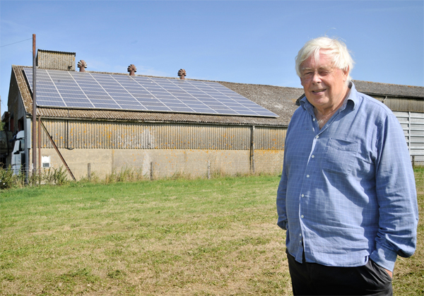 Farmers sets up solar farm through leasing