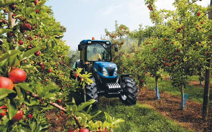 New Holland Wins Tractor Of The Year With T4060f Farming