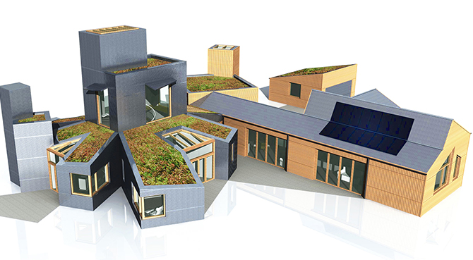 Eco-house seeks planning permission in Leicestershire