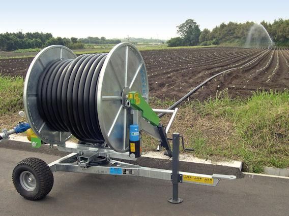Bauer irrigation reels compact design farming uk news