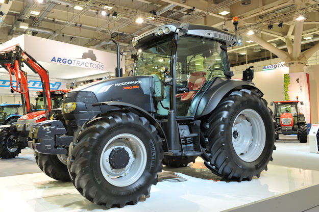 The McCormick X60.50 X-Black Edition will be an eye-catching model among a sea of red and silver tractors at the SIMA show.