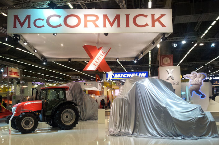McCormick unveils new tractor at SIMA