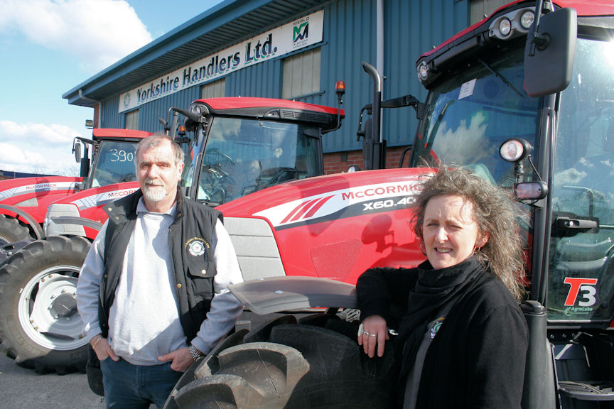 Phil and Rhonda Robinson have added the McCormick franchise to their long-established business supplying and supporting Merlo telescopic handlers.