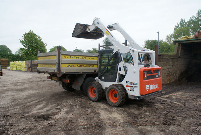 New Bobcat loader helps landscape centre keep up with demand