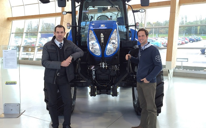 Two new appointments for New Holland's marketing team