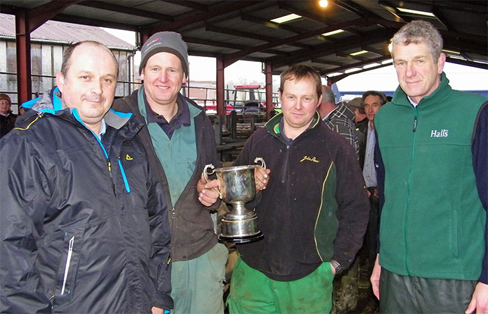 Good support for Bishops Castle Auction's Christmas Fastock Show