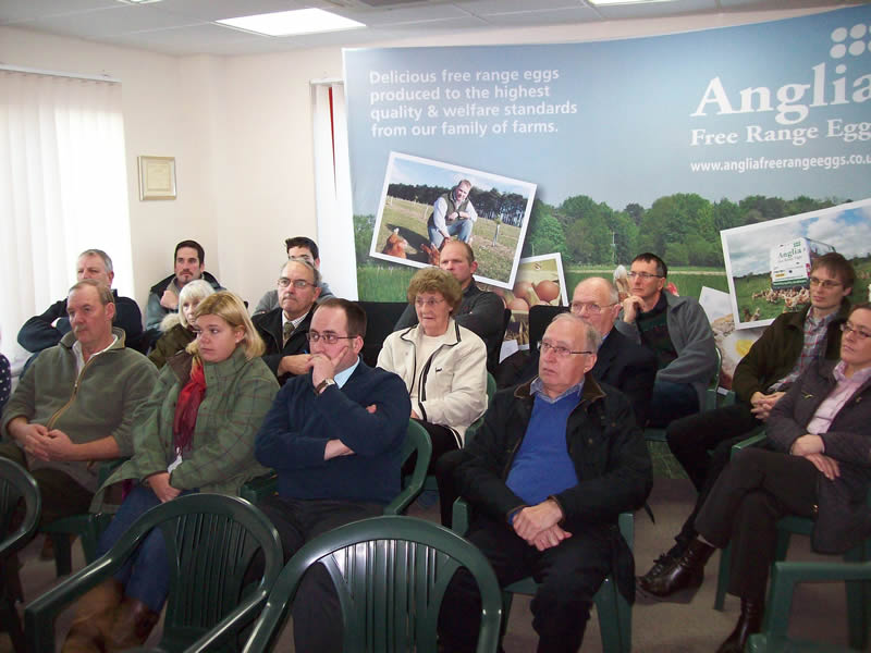Closer links with Tesco discussed at Anglia egg producers meeting
