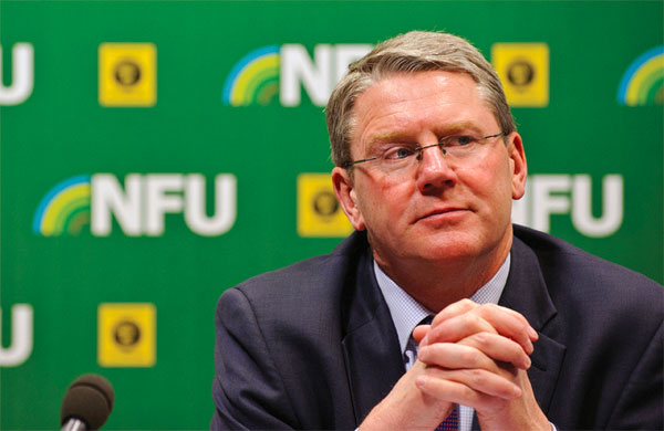 NFU President's New Year message: Back British farmers