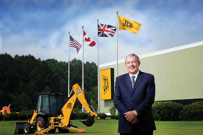 JCB appoints new Chief Executive after Patterson retires
