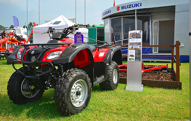 Suzuki starts off year by exhibiting at LAMMA