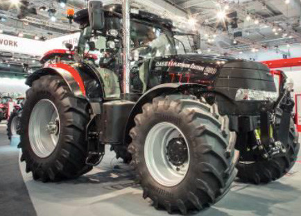Case IH exhibits Platinum Edition Puma at LAMMA