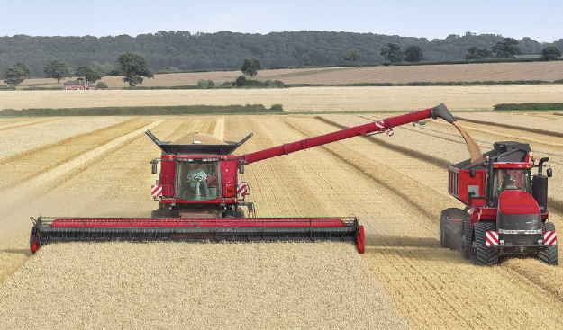 Case to show world's largest combine header at LAMMA