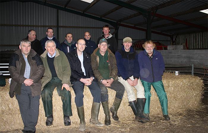 NFU Cymru members meet with Llyr Huws Gruffydd AM